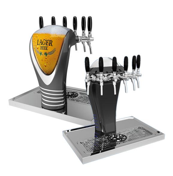 Kolumna do piwa Celli Alaska od 4 do 6 kranów