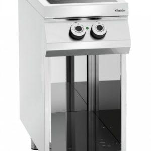 2-palnikowa kuchnia elektryczna z podstawą otwartą szer. 400 x gł. 900 x, 900 MASTER Bartscher