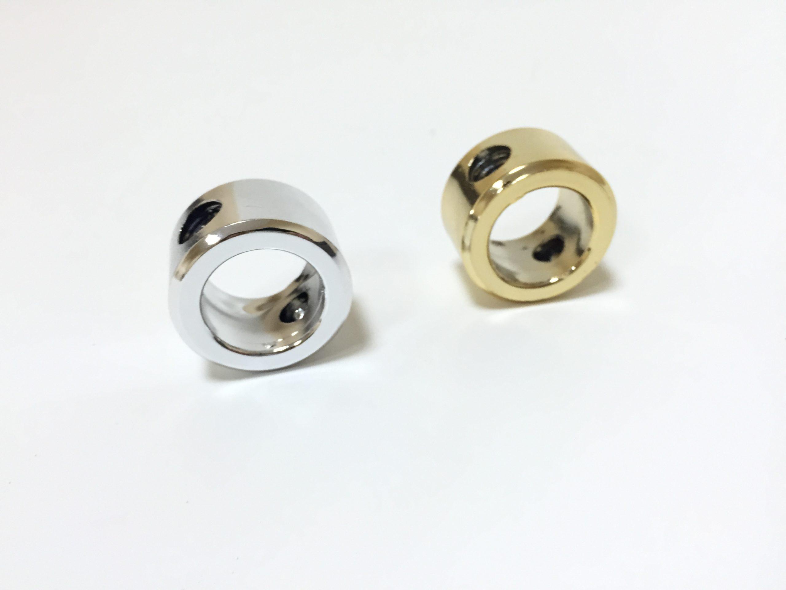 Tuleja medalionu złota lub srebrna PCV