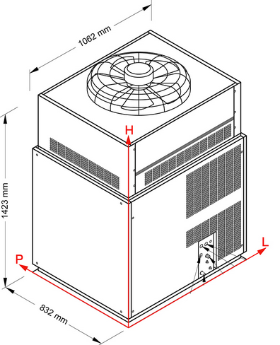 NTF Automatyczna kruszarka do lodu SM4500