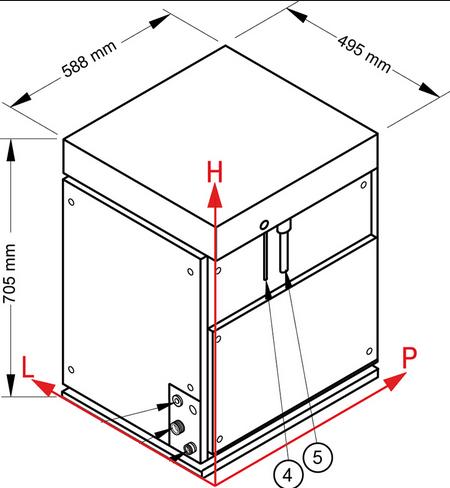 NTF Automatyczna kruszarka do lodu Split 750