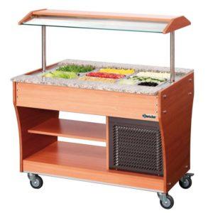 Wózek bufet, chłodniczy 3 x 1/1 GN, głębokość 150 mm Bartscher