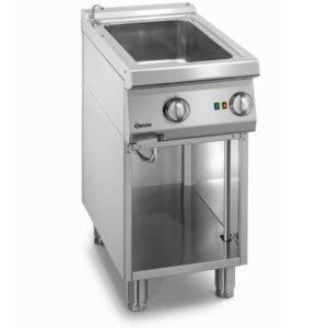 Bemar elektryczny 700 CLASSIC z kranem doprowadzającym wodę na podstawie otwartej GN 1/1 szer. 400mm 1kW 230V Bartscher