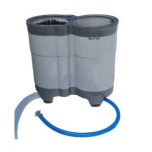 Zmywarka ręczna 2-komorowa do szkła BEVI FELIX onTOP z wężem odpływowym (nie wymaga zlewu)