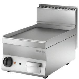 Grill płyta grillowa nastawna elektryczna 650 SNACK 3.9kW 400V gładka Bartscher