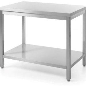 Stół roboczy z półką Bartscher szer. 1200 x gł. 700 x wys. 860-900 mm