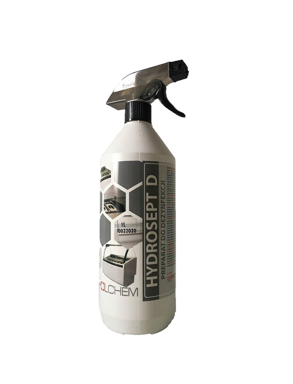 1 LITR Preparat Płyn do dezynfekcji bez spłukiwania Hydrosept D