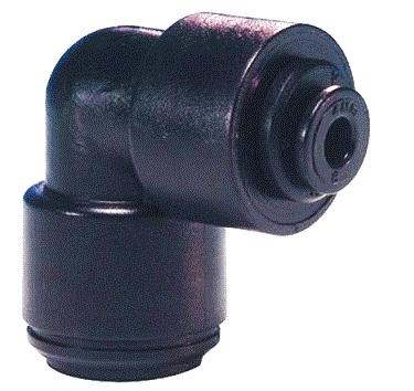 SZYBKOZŁĄCZKA KOLANKOWA REDUKCYJNA 12mm - 8 mm John Guest PM211208E PZ