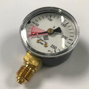 Manometr wysokiego ciśnienia 0-250 BAR ODL