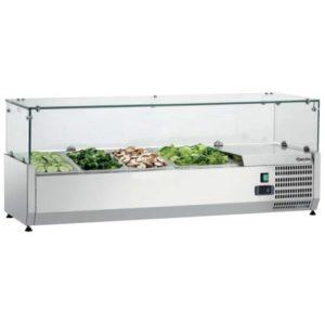 Nadstawa chłodnicza GL3 5 x 1/3 GN + 1 x 1/2 GN Bartscher
