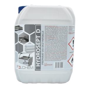 5 LITRÓW Płyn do dezynfekcji bez spłukiwania Hydrosept D