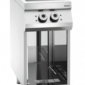 Kuchnia indukcyjna, 2 pola grzewcze z podstawą otwartą szer. 400 x gł. 900 x, 10 kW, 900 MASTER Bartscher