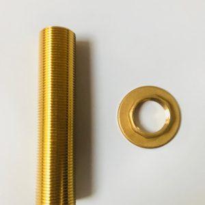 Tuleja złota do kolumny z nakrętką Celli 1 cal