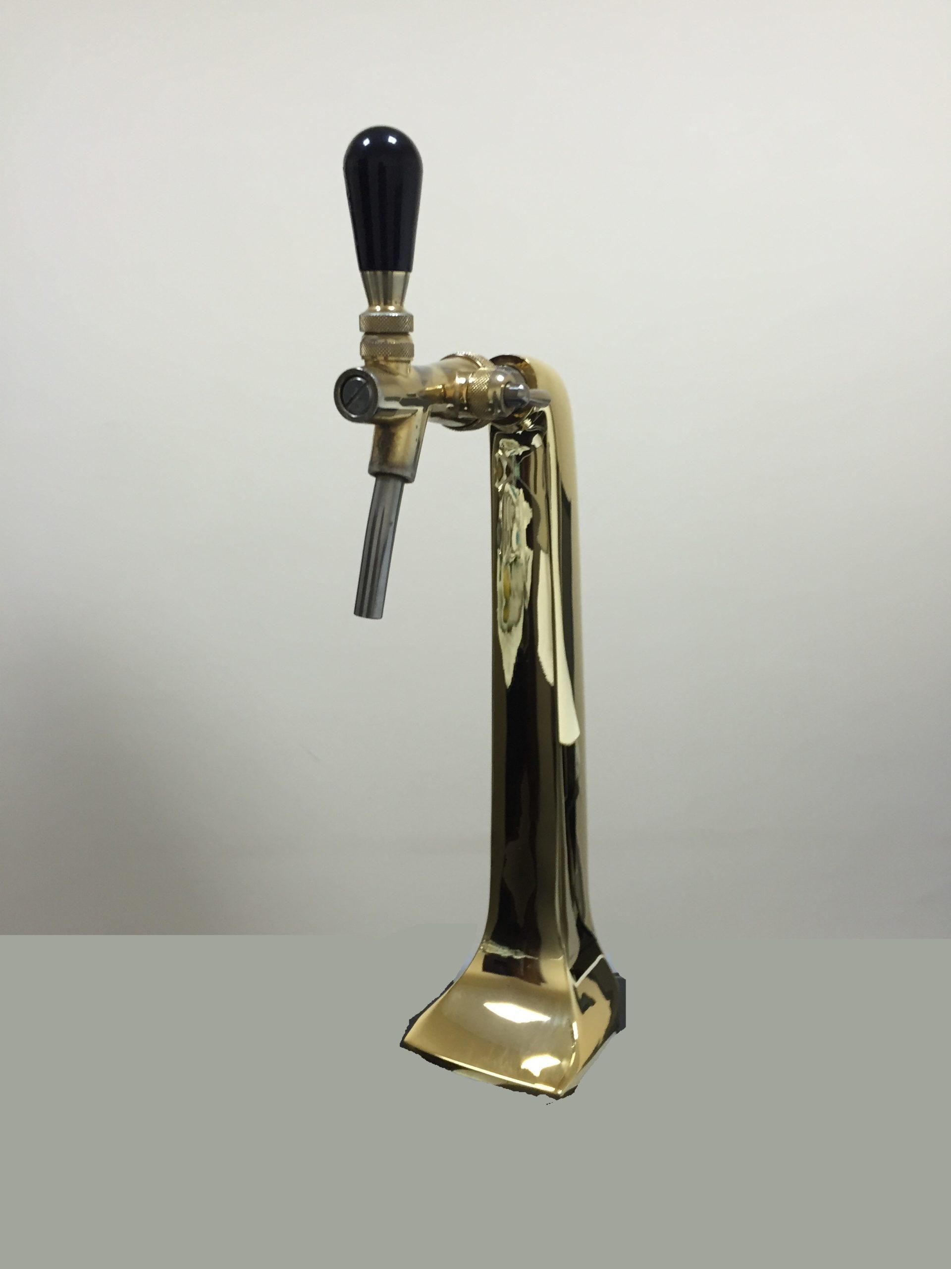 Kolumna do piwa pojedyncza Złoto